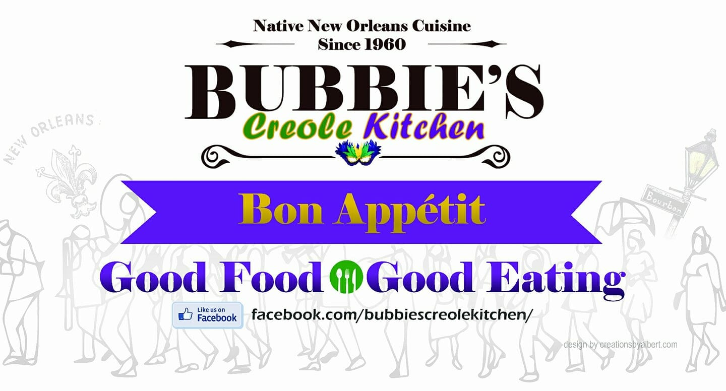 Bubbie S Creole Kitchen Popup Shops