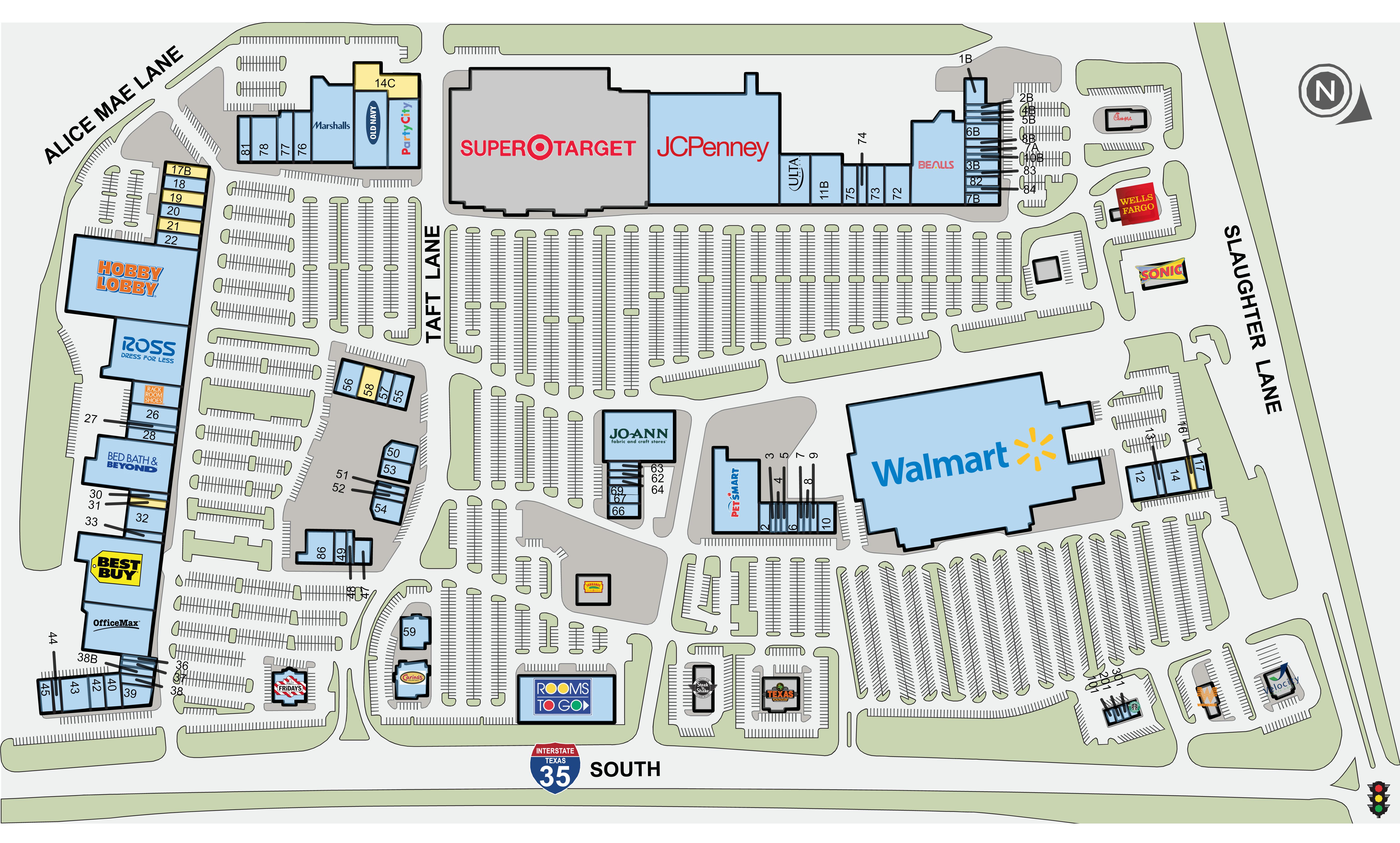 17B – Southpark Meadows | PopUp Shops