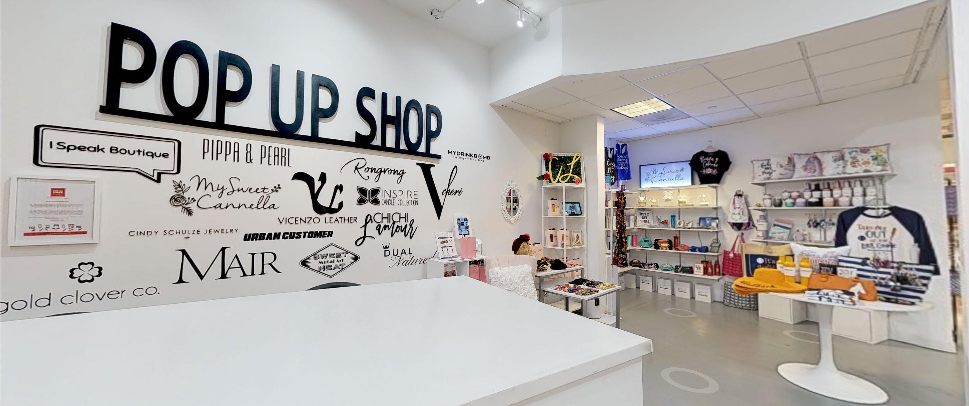 I Speak Boutique – Galleria Mall Pop Up Shops – PopUp Shops