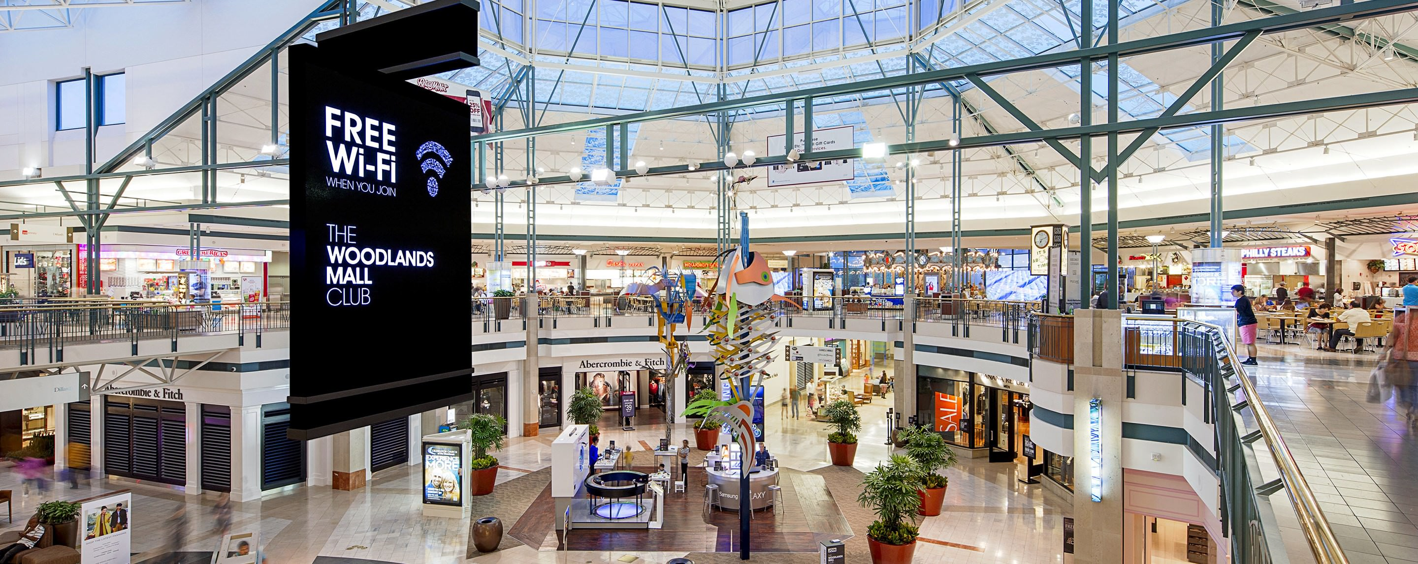 Taxi San Antonio >> The Woodlands Mall – 2196 (Former Picture People / Jarmz) – PopUp Shops